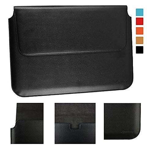 Emartbuy® Acer Switch Alpha 12 Detachable PC Noir PU Cuir Magnétique Etui Coque Case Portefeuille Wallet Sleeve ( 11.6 to 13.3 Pouce )