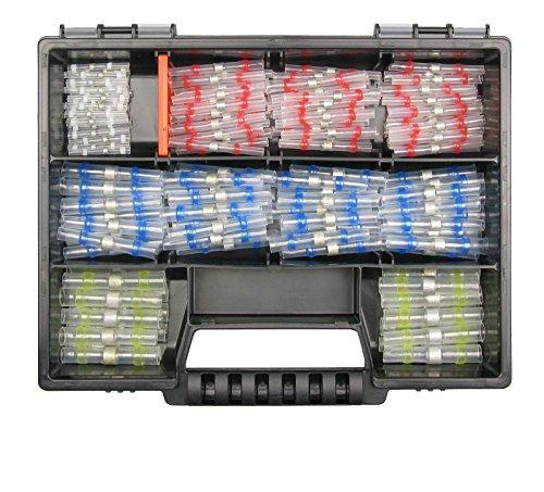 Preisvergleich Produktbild Lötverbinder 150 Teile Sortiment Set für Industrie Elektrik KFZ LKW AUTO Box 2