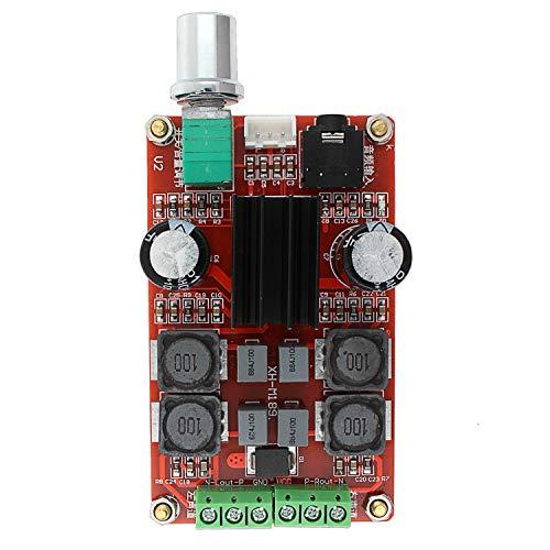 Sandy Cowper Digitalverstärker TPA3116D2 2 x 50 W Klasse D 12 V 24 V AMP Stereo, 2 Kanäle, LDTR-WG0196 Module -