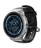 Smartwatches I8 4G Smart Watch Mit Kamera Pulsmesser Schrittzähler Fitness Tracker GPS Wifi HD Sportuhr Für Telefon,Silver