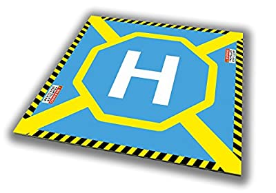Drone Helicopter Edition Port Drohnen RC Helicopter Landing Site/Landing Platform Portable Landing Pad/Drohnen, Helicopter & Quadcopter Landing Platform/Dronepad/Helipad heliport Pad by Dronee