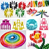 Magicwand® 120 Pcs of Colorful Wooden Stacking Blocks Game for Kids