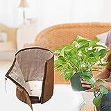 Sunnyushine Ttopfschutz Winter Bio Green Tthermo Topfschutz 50 X 45cm/70 X 65cm Wiederholbare UV-Schutz Topfdekoration