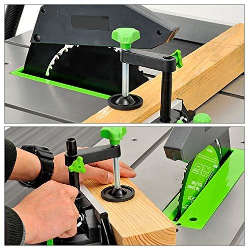 Tischsäge Drücker, Schublineal Winkelplatte Winkellineal Holzbearbeitung DIY Zubehör Führungslineal Tischkreissäge Holz Tischkreissäge