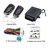 Surobayuusaku M602-8175DS Universal Remote Control Central Locking Kit Car Door Lock Keyless Entry...