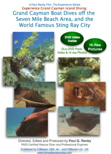 Experience Grand Cayman Island Diving: Grand Cayman Boat Dives off the Seven Mile Beach Area, and the World Famous Sting Ray City [2 DVDs] [UK Import] -