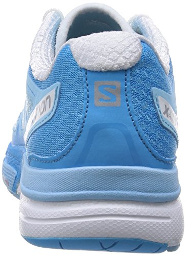 Salomon X-Scream 3D - Chaussures de running - bleu 2015 air/white/blue line