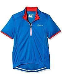 CMP Joven Bike Camiseta, niño, Bike, Zaffiro-Ferrari