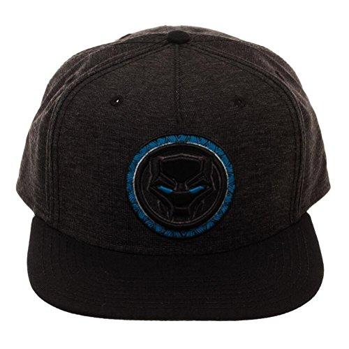 Marvel Black Panther Logo Black Snapback Baseball-Cap -