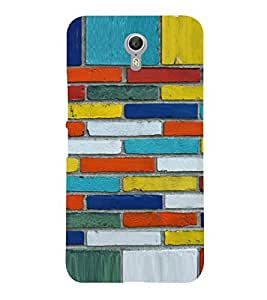 PRINTVISA Abstract Brick Pattern Case Cover for LENOVO ZUK Z2 PRO
