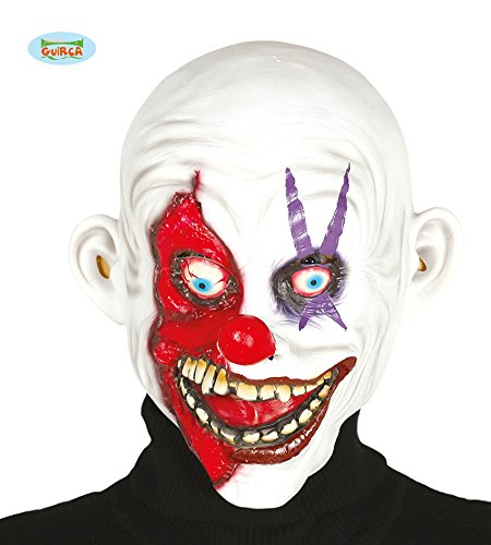 Guirca 2397 - Mascara Payaso Sonriente Latex