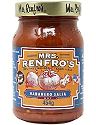 Mrs. Renfro's Low Fat Habanero Salsa Hot, 454 g
