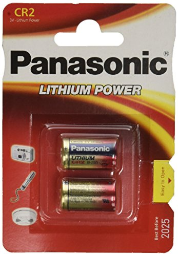Panasonic CR2 Kamera Lithium 750 mAh 3 V 2er Pack -