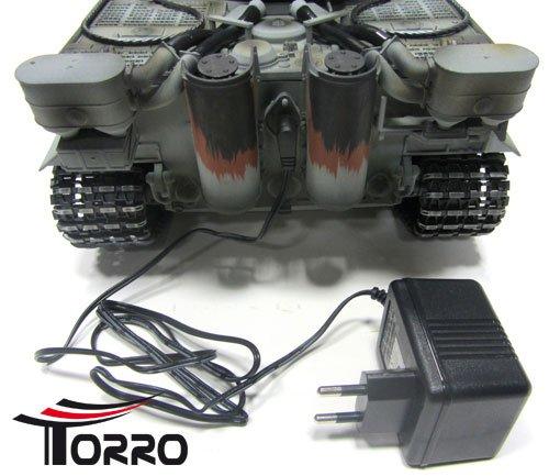 Tiger I. Profi Metallausführung IR Version TORRO Panzer mit Holzkiste - 3