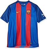 Nike Herren FC Barcelona Heim Trikot, Sport Royal/Gym Red/University Gold, XL 46-48