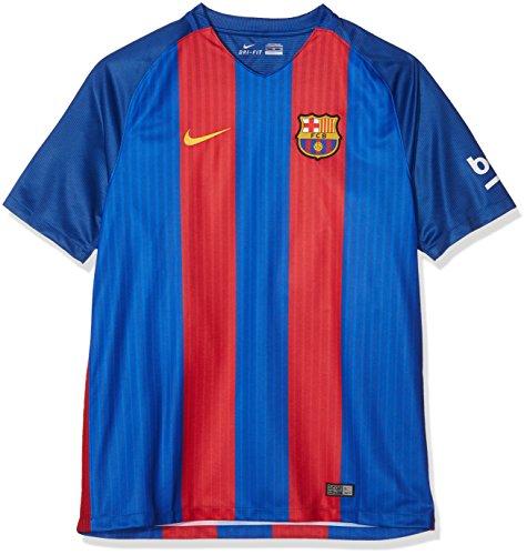 "Nike Herren FC Barcelona Heim Trikot, Sport Royal/Gym Red/University Gold, XL 46-48"" Chest (112-124cm)"
