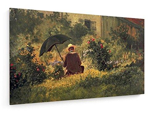 Spitzweg / Autoritratto / 1865-1870 - 100x60 cm - weewado - Belle stampe d'arte tela - arte della parete - Vecchi Maestri