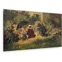 Spitzweg / Autoritratto / 1865-1870 - 100x60 cm - weewado - Belle stampe d'arte tela - arte della parete
