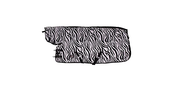 Gr Epplejeck Abschwitzdecke Zebra/ Schwarz 135 cm