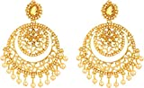 Bling N Beads 18K Yellow Gold Plated Ear...