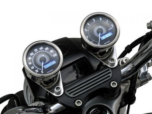 60mm Digital Tacho Rund Universal Motorrad Cafe Racer Bopper