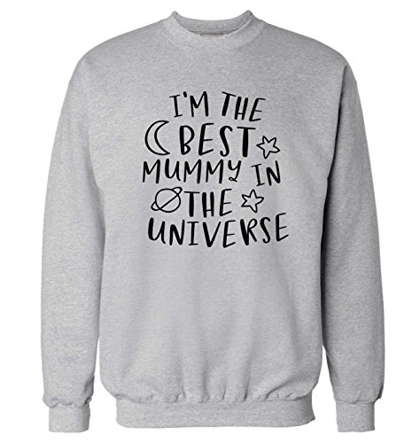 Flox Creative Adults Sweater I'm The Best Mummy in The Universe