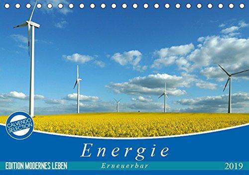 Energie - erneuerbar - Biomasse (Tischkalender 2019 DIN A5 quer): Energiewende - erneuerbare oder regenerative Energien, Biomasse - wichtige Säulen ... 14 Seiten (CALVENDO Wissen) (Bioenergie Leben)