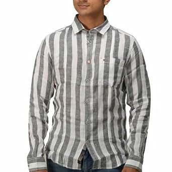Eric German Men'S Slim Fit Linen Shirt-1114.3012-Xx-Large