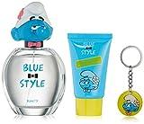 First American Brands Blue Style Die Schlümpfe Beauty Schlumpf 100