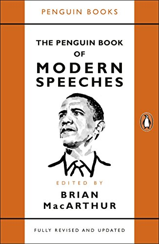 The Penguin Book Of Modern Speeches por MacArthur Brian