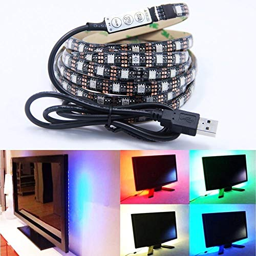 Lieferung von Qualitätsprodukten 5vUSB Scanner mobile Stromstreifen Lichtleiste Lampe mit einer TV-Hintergrundbeleuchtung 5050RGB Bar (Size : USB 1.5m RGB light strip)