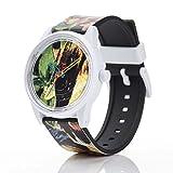 Q&Q Solar Smile Unisex Solar Uhr mit Plastik armband Analog Quarz RP00J026