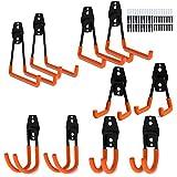 Doppelhaken, Hakkin 10 teilig Gerätehaken Garage Storage Doppelhaken Wandhaken für Stuhl Leiter Organisation von Power Tools Massen Artikel