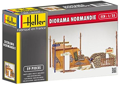 Heller 81250 - Modellbau Zubehör Diorama Normandie