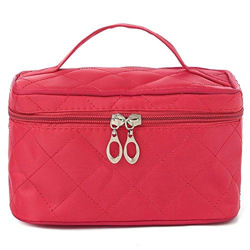 UberLyfe Cosmetic Bag cum Travel Organizer - Perfect for Weddings- Rose (1152-ROSE)