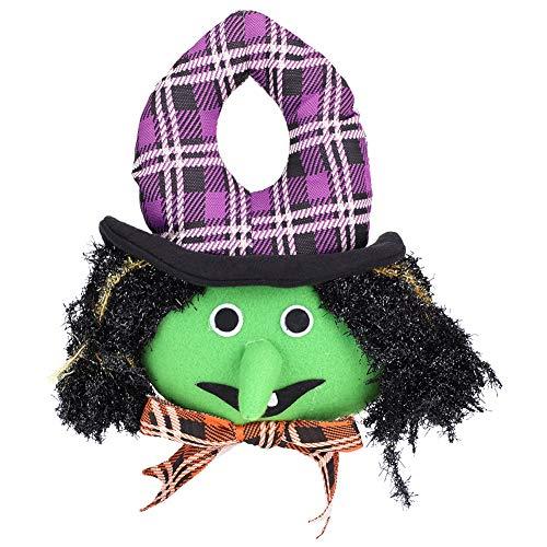 Aramox Halloween Puppen Spielzeug Dekoration, Kürbis, Hexe, weißer Geist, Happy Party Dekoration für zu Hause, Bars, KTV, Supermarkt, (Witch) (Dekoration Zu Hause)
