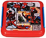 Marvel Spiderman Plastic Lunch Box, 330m...