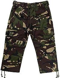 KAS Kids Army Cadet Combat Woodland Camo Trousers - 7/8yrs