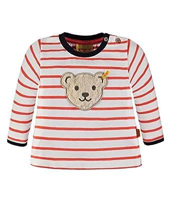 Steiff Collection Jungen Sweatshirt 1/1 Arm 6833673, Mehrfarbig (y/d Stripe 0001), 62