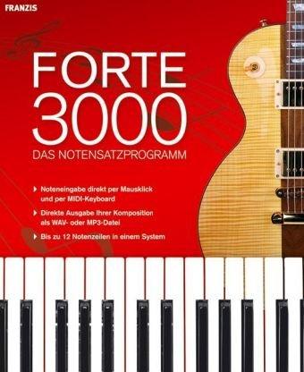 Forte 3000 - Das Notensatzprogramm