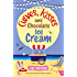 Curves, Kisses and Chocolate Ice-Cream: The perfect feel good holiday romance (The Ice-Cream Cafe Series Book 2)
