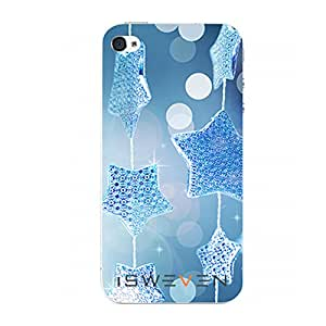 iSweven Printed Designer blue star Design Back case cover Apple iPhone 6plus/ 6s Plus iph2564