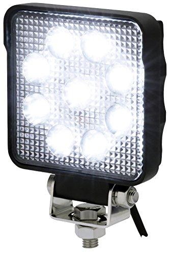 AdLuminis LED Arbeitsscheinwerfer eckig, 15 Watt 1250 Lumen, OSRAM Chips, 60°, Für 12V 24V, IP67 IP69K Schutzklasse, Zusatzscheinwerfer, Rückfahrscheinwerfer, Suchscheinwerfer