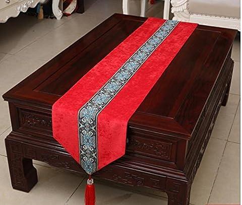 ADDMAT® Tischläufer Hochwertige Tischfahne moderne einfache amerikanische Pastoral Tisch Tisch Flagge , B , (Festliche Zitate Für Weihnachten)