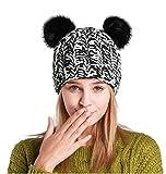 Berretti invernali donna, Beanie Cappello in Maglia Cappelli Invernali Berretti per donna & ragazze (Mickey Mouse)