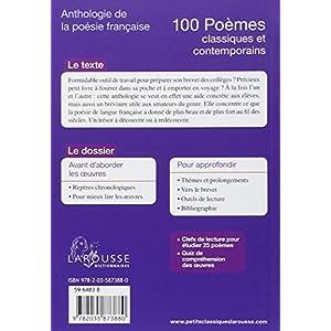 Lire En Ligne 100 Poèmes Classiques Et Contemporains