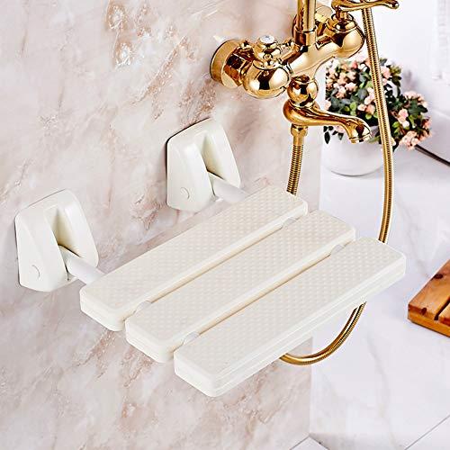 Badezimmer Antibakteriell Duschhilfe, Toilette Zusammenklappbar Duschsitz Wandmontage typ Badewanne sitz Bad hocker für behinderte ältere-A 33x33x10cm(13x13x4)