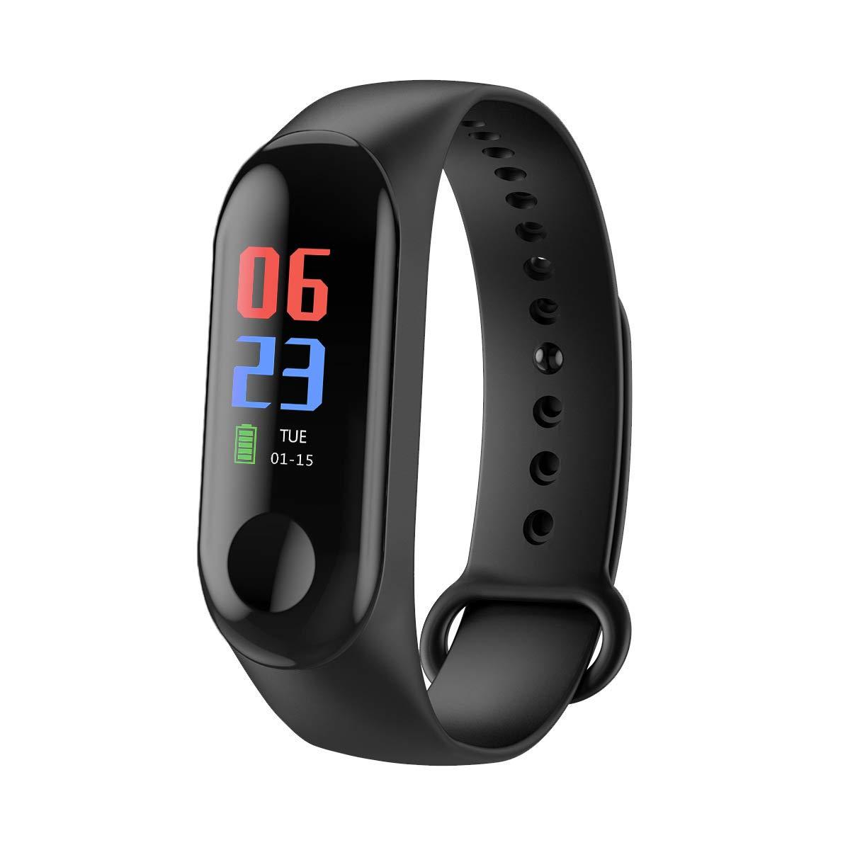 Rastreador de Ejercicios, Smart Bluetooth Sport Waterproof Rastreador de Ejercicios Reloj Inteligente con Ritmo cardíaco… 1