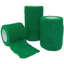Firstaid4sport - Venda adhesiva verde verde Talla:5cm x 4.5m