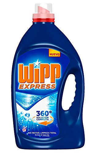 Wipp Express Gel – Detergent For Clothes, Blue, 47d (3litros)